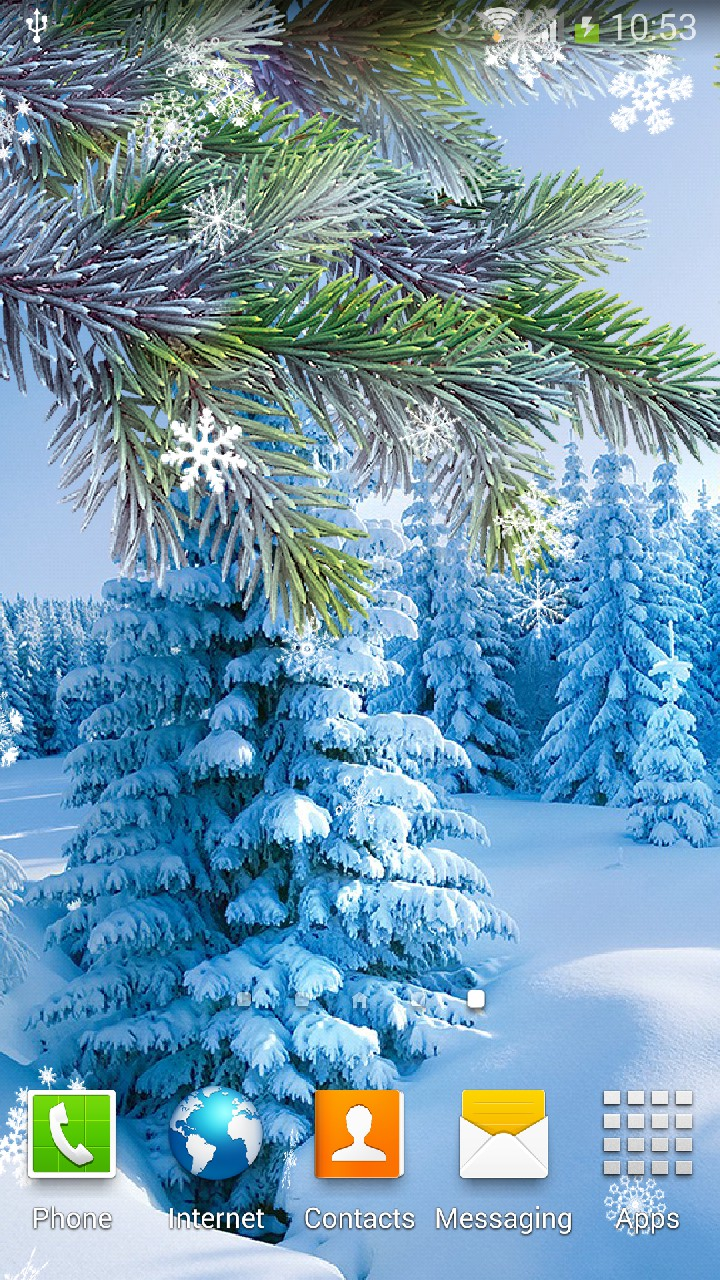 winter live wallpaper for android amax software
